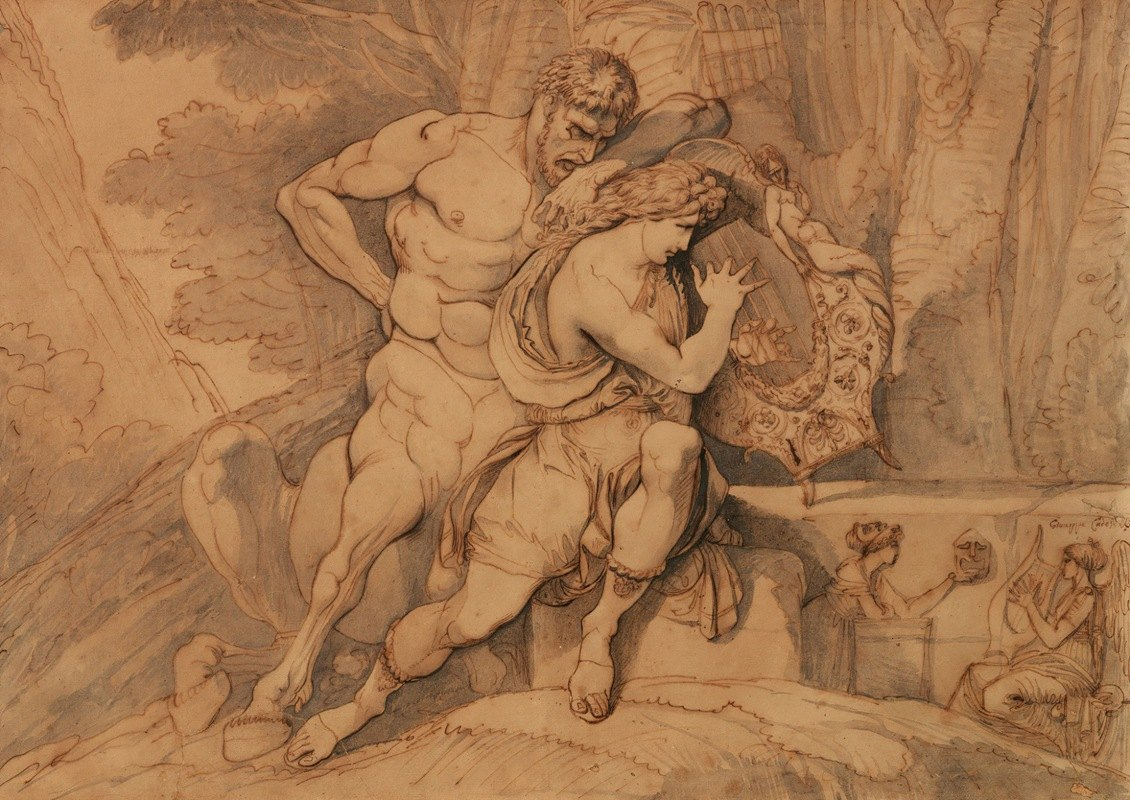 Giuseppe Cades - TheEducationOfAchilles By Chiron