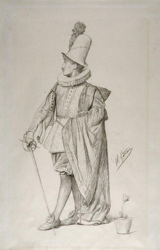 Jean-Léon Gérôme - Dutch Cavalier