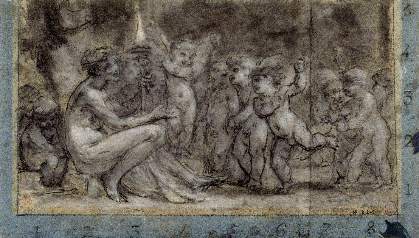Pierre-Paul Prud'hon - Le flambeau de Vénus