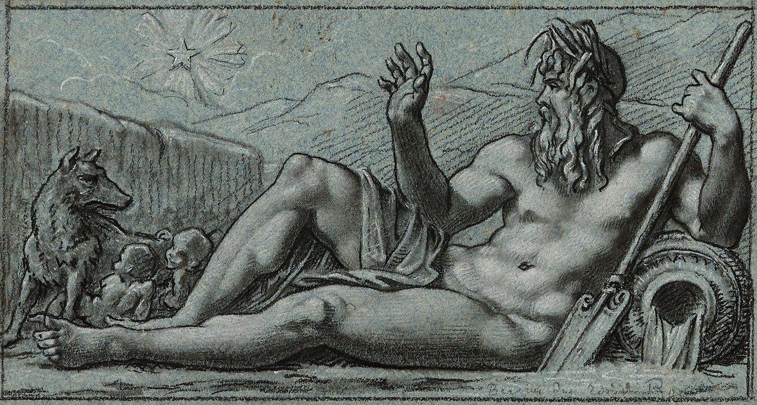 Pierre-Paul Prud'hon - Le Tibre voit se lever l'astre naissant