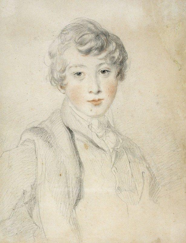 Sir Thomas Lawrence - Portrait de jeune homme