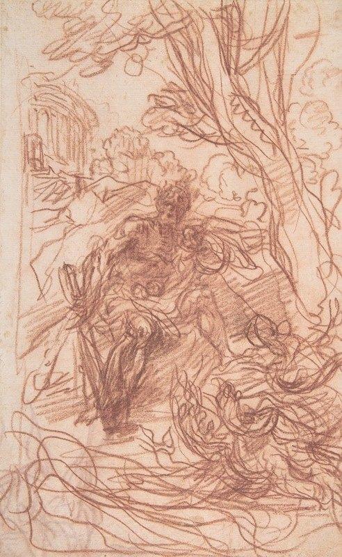 Baldassarre Franceschini - Hercules in the Garden of the Hesperides