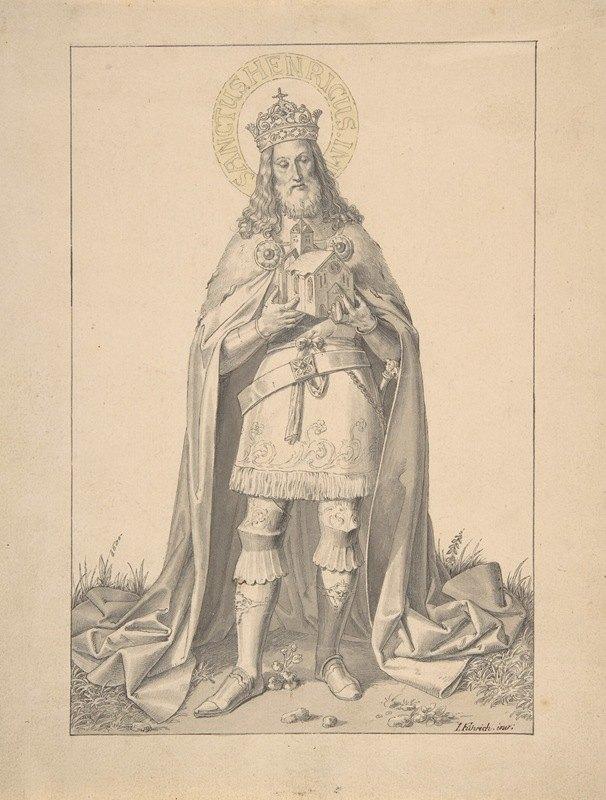 Joseph von Führich - Saint Henry (Emperor Henry II)