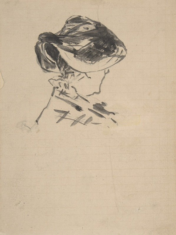 Édouard Manet - Suzanne Manet at Bellevue