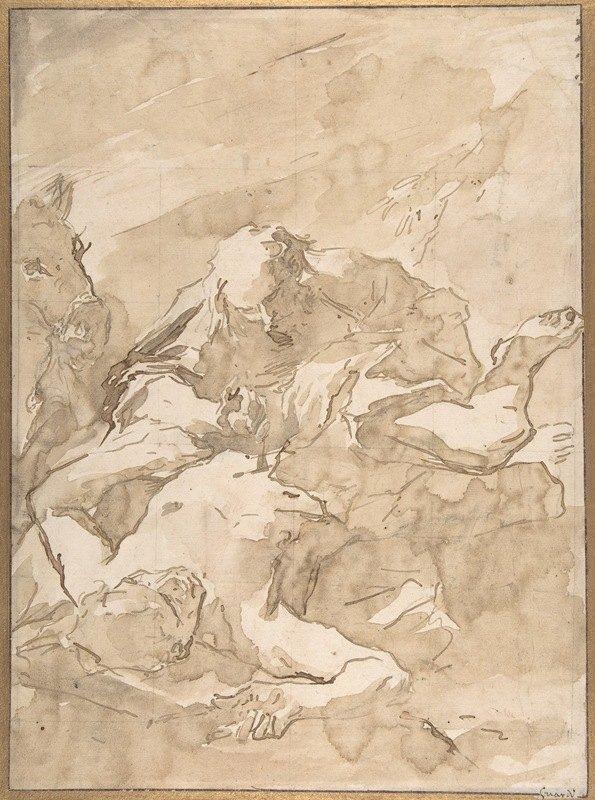 Giovanni Antonio Guardi - The Good Samaritan
