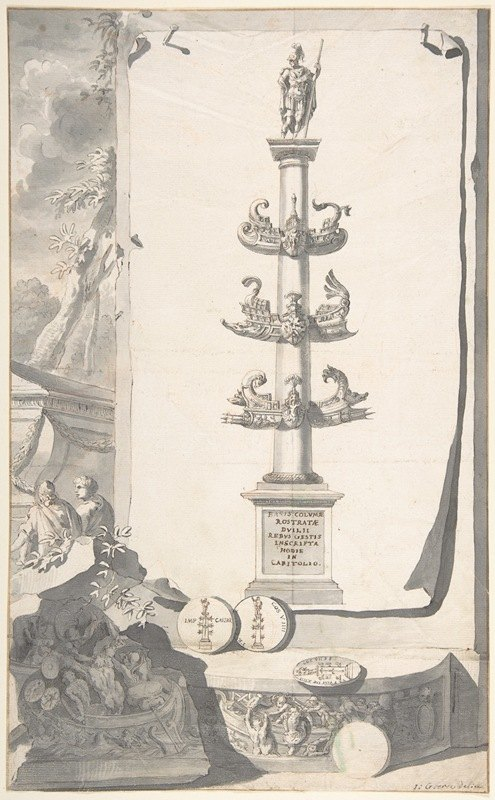 Jan Goeree - A Reconstruction of the Base of the Column Rostrata.
