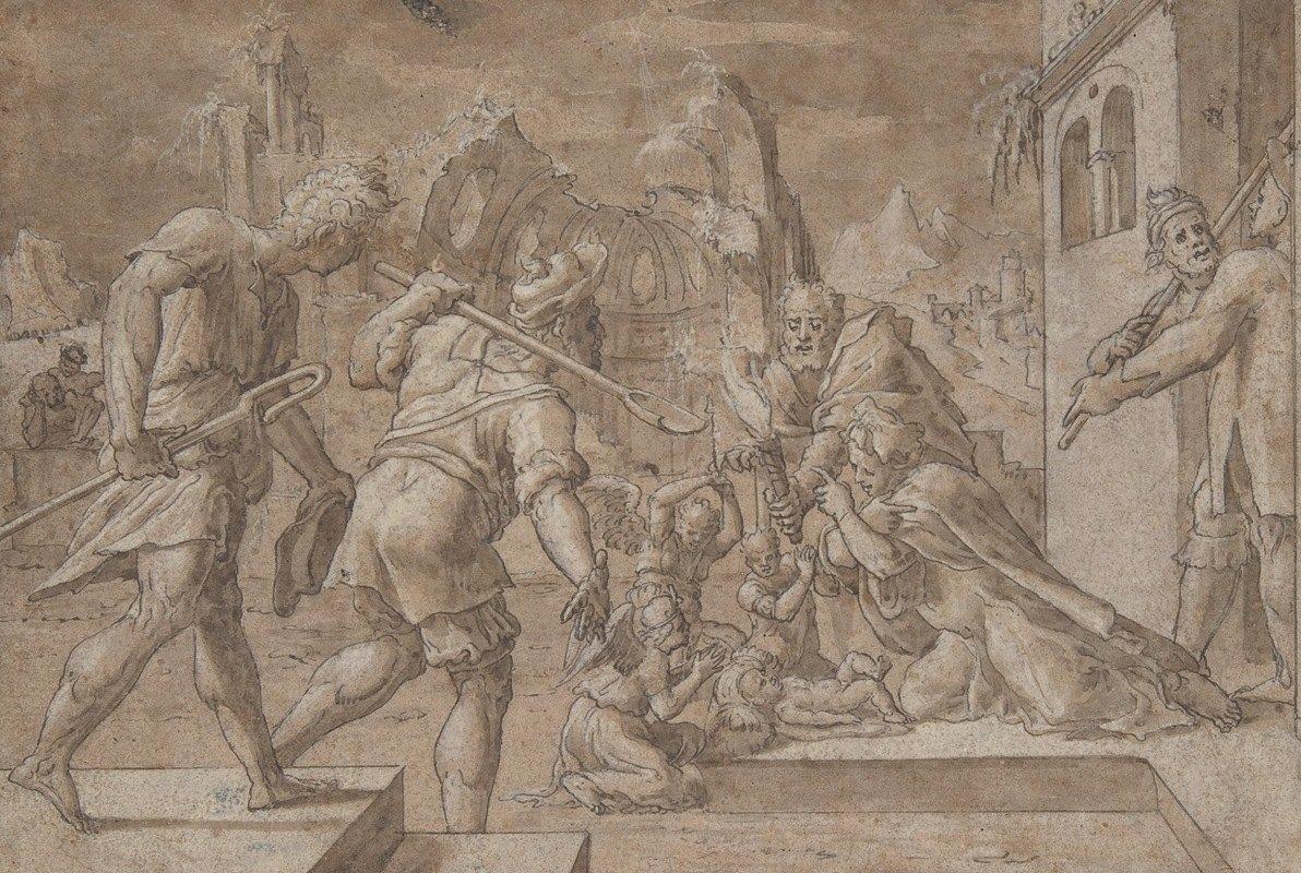 Master of Liechtenstein - Adoration of the Shepherds