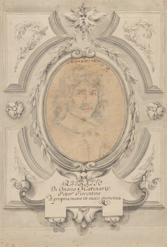 Onorio Marinari - Self-Portrait