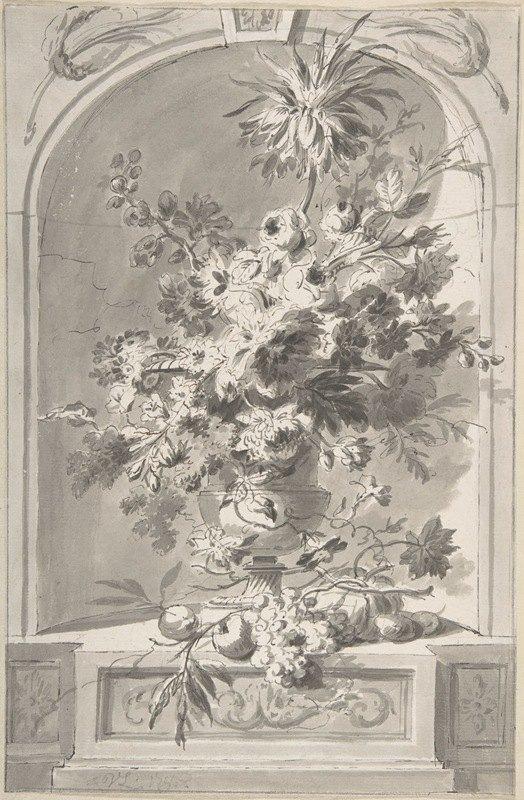 Willem van Leen - Vase of Flowers