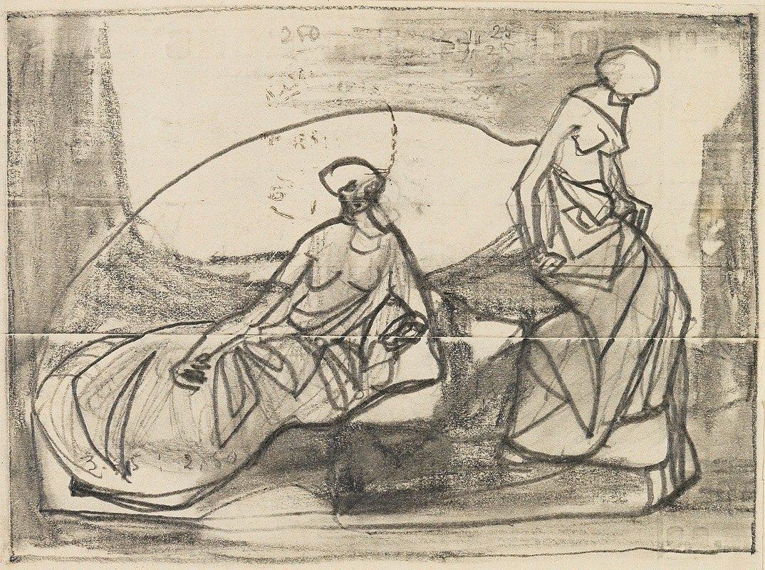 Adolf Hölzel - Figürliche Szenen