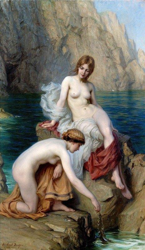 Herbert James Draper - By Summer Seas