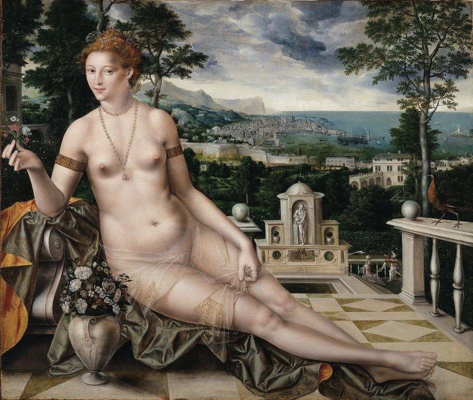 Jan Massys - Venus Cythereia