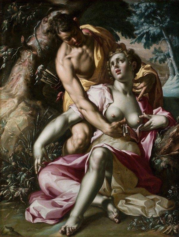 Joachim Wtewael - Cephalus and Procris (The Death of Procris)