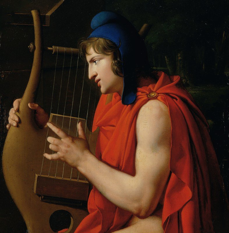 Johann Peter Krafft - Orpheus at the tomb of Eurydice