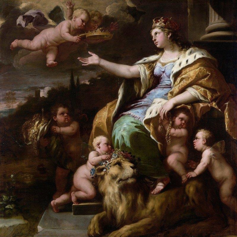 Luca Giordano - Allegory of Magnanimity