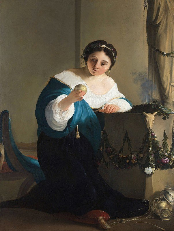 Paulus Bor - Cydippe With The Apple of Acontius