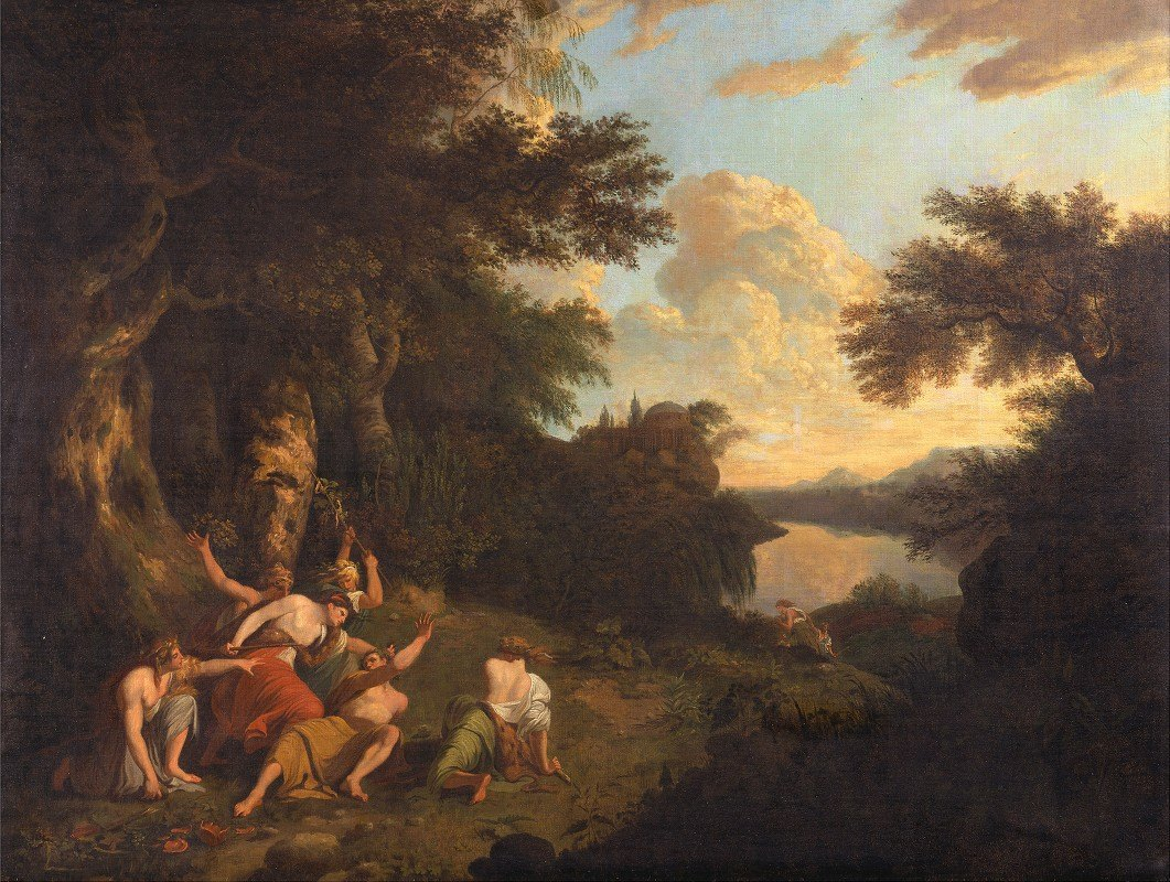 Thomas Jones - The Death of Orpheus