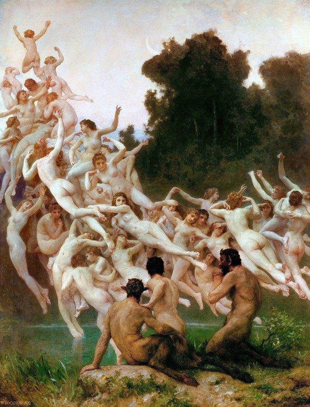 William-Adolphe Bouguereau - Les Oréades