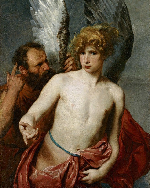 Anthony van Dyck - Daedalus And Icarus