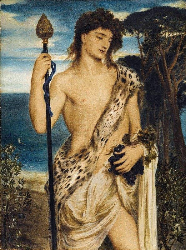 Simeon Solomon - Bacchus