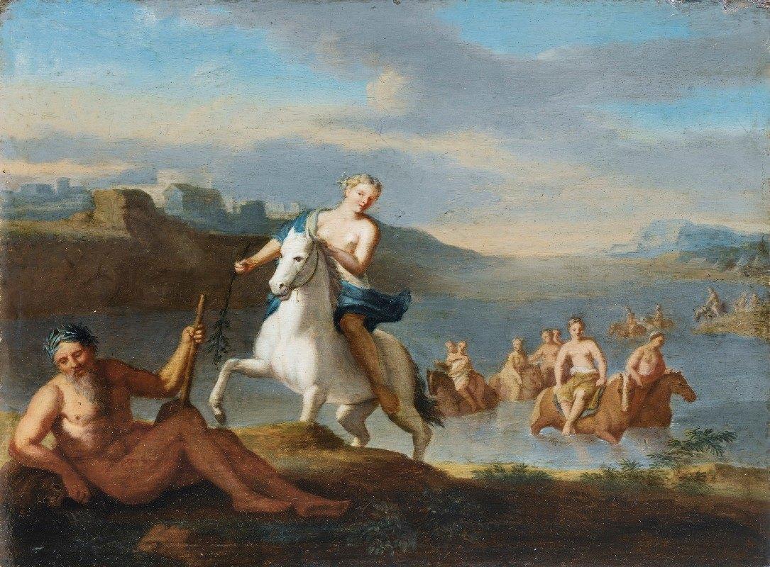 Gerard Hoet - Clelia Crossing The Tiber