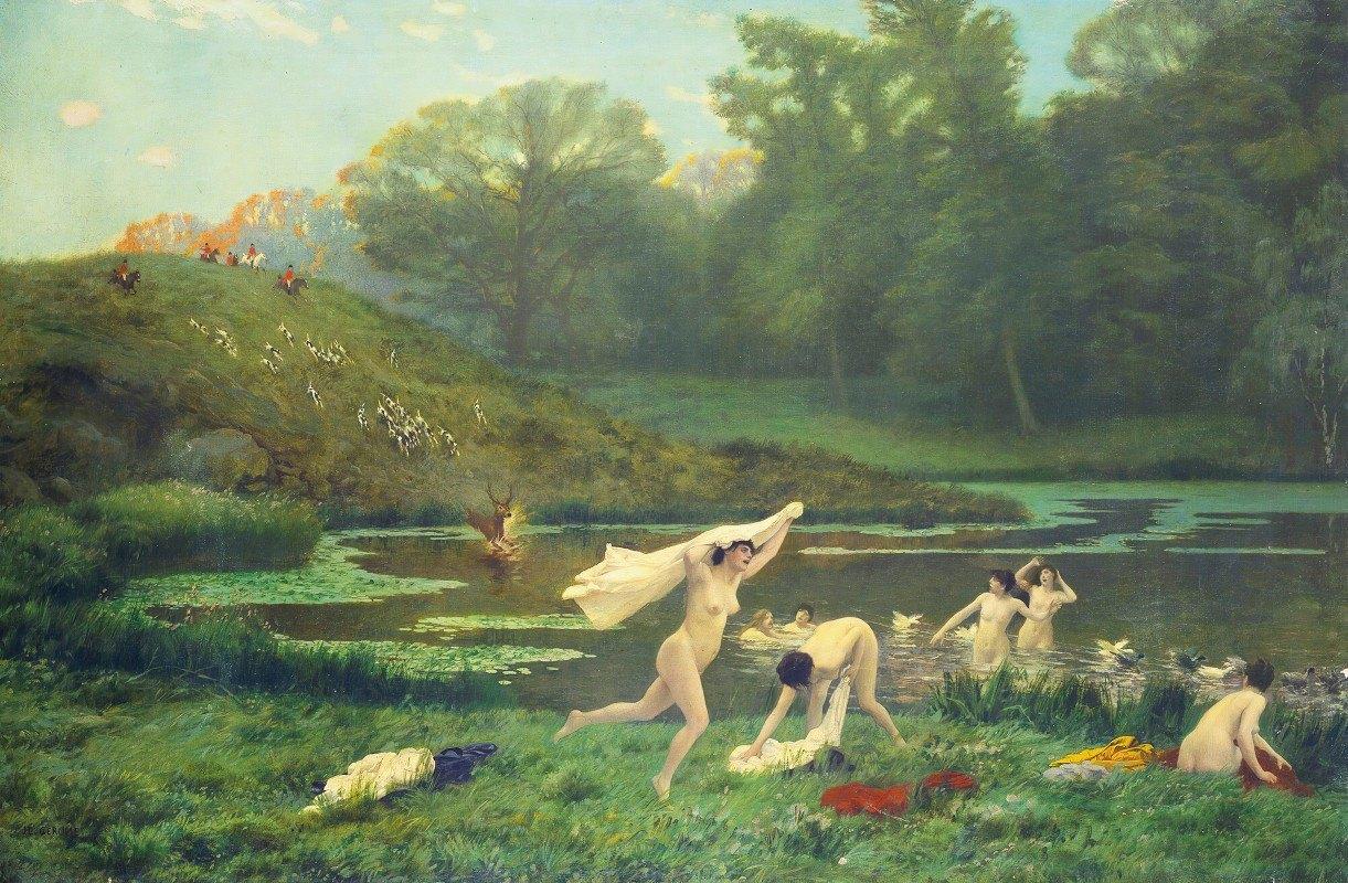 Jean-Léon Gérôme - Diane Et Actéon