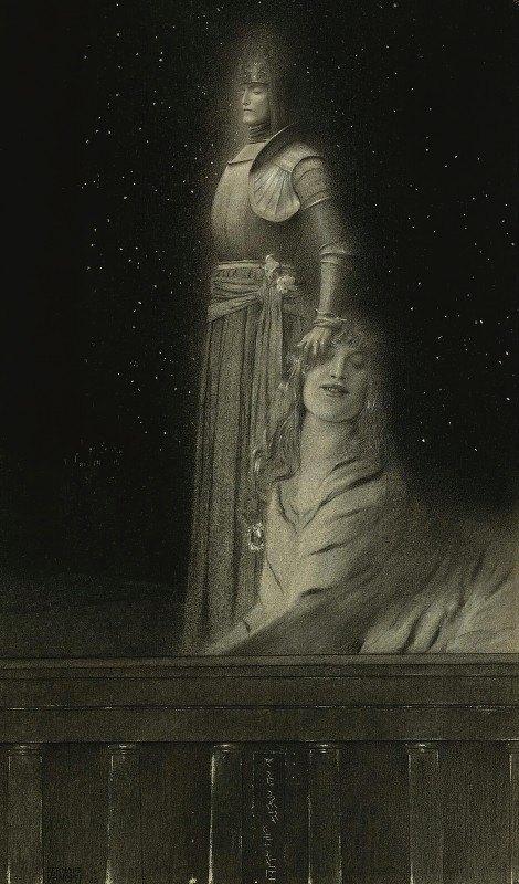 Fernand Khnopff - Avec Verhaeren. Un Ange