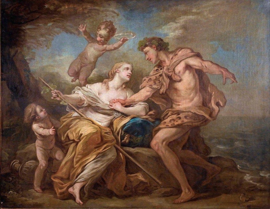 Charles-André van Loo - Bacchus And Ariadne