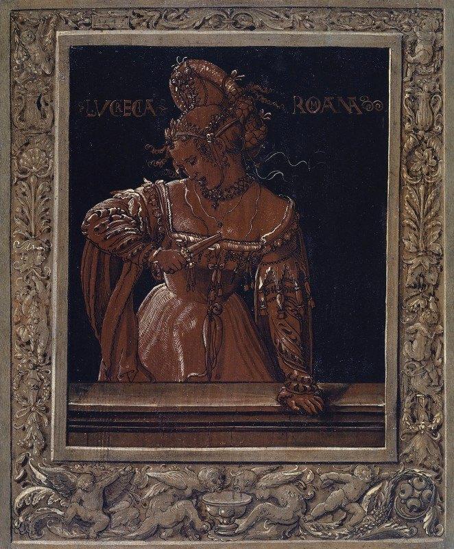 Niklaus Manuel - Lucretia