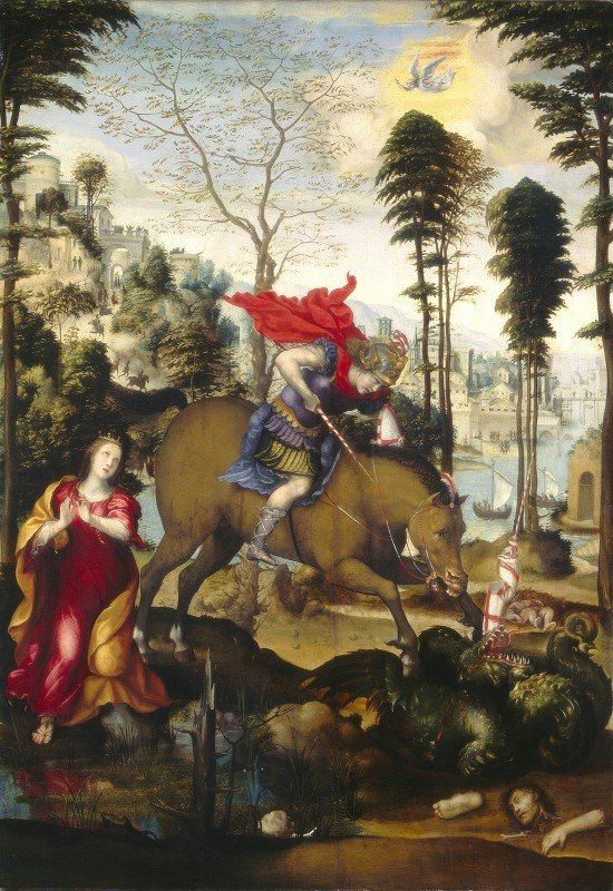 Sodoma - Saint George and the Dragon