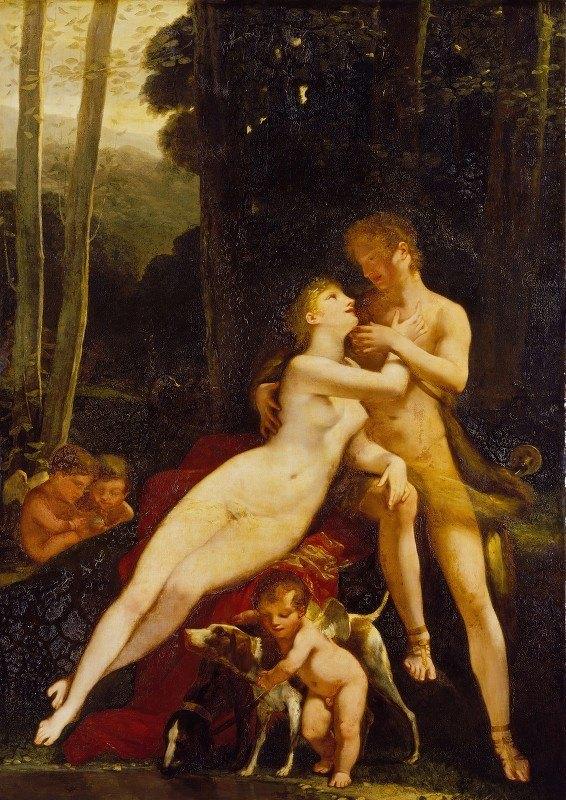 Pierre-Paul Prud'hon - Venus and Adonis