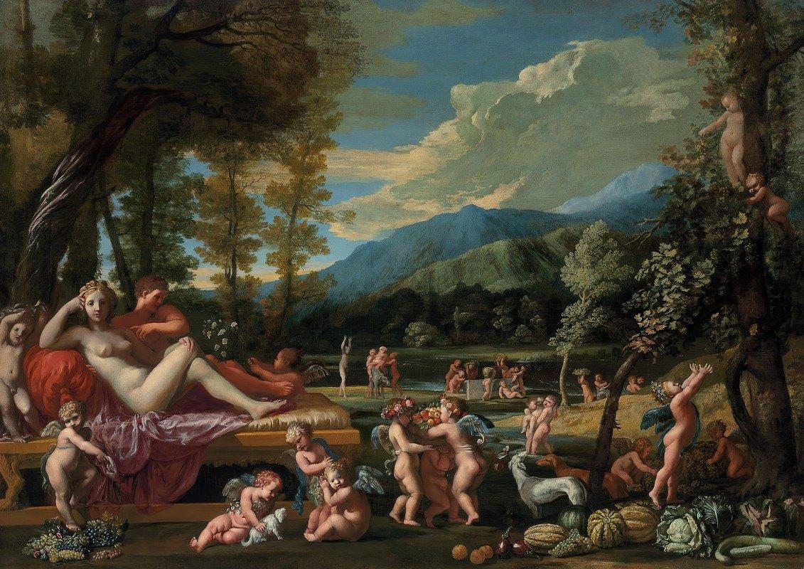 Pietro Testa - An Allegory Of Autumn