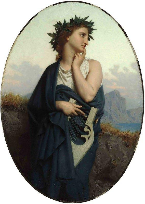 William-Adolphe Bouguereau - The Muse (Philomèle)