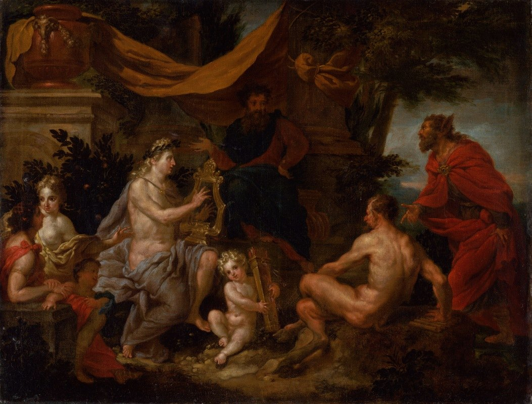 Godfried Maes - The Music Competition of Pan and Apollo