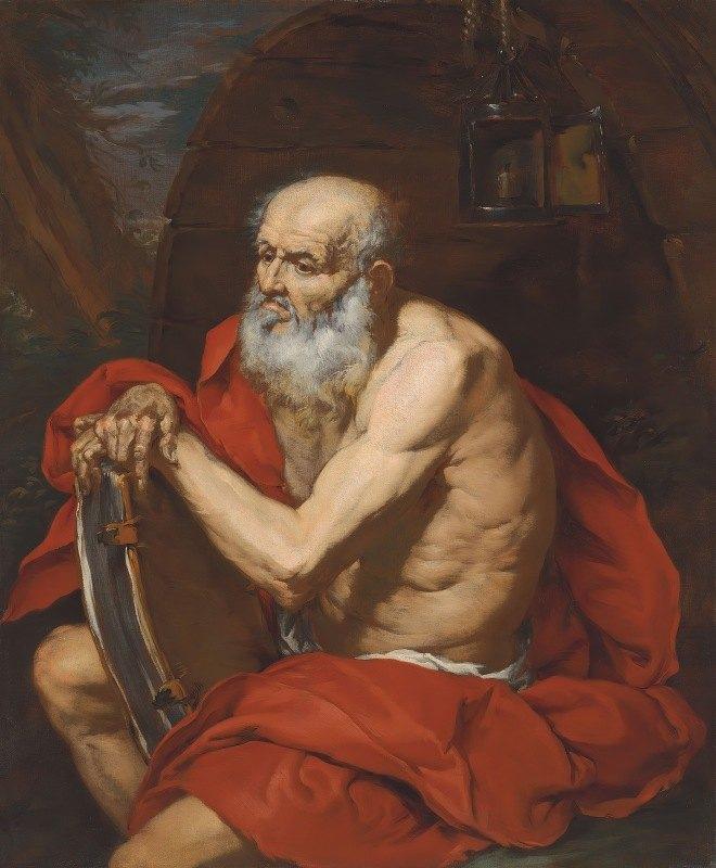 Giovanni Battista Langetti - Diogenes