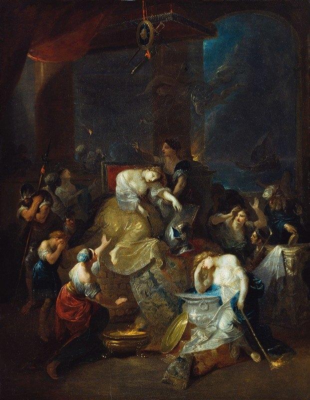 Franz Anton Maulbertsch - Der Tod der Dido