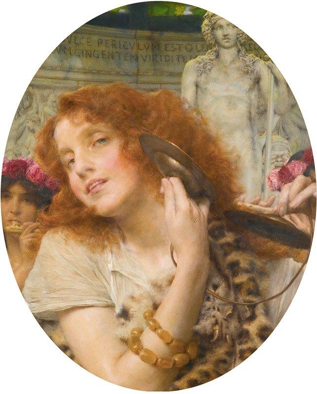 Lawrence Alma-Tadema - Bacchante