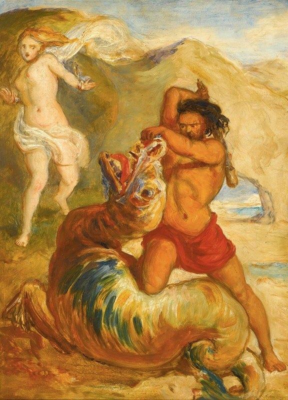 Sir John Everett Millais - Perseussaving Andromeda