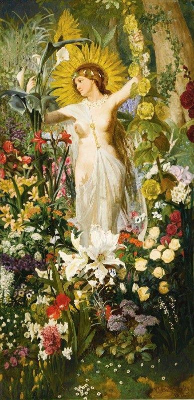 Valentine Walter Bromley - Flora