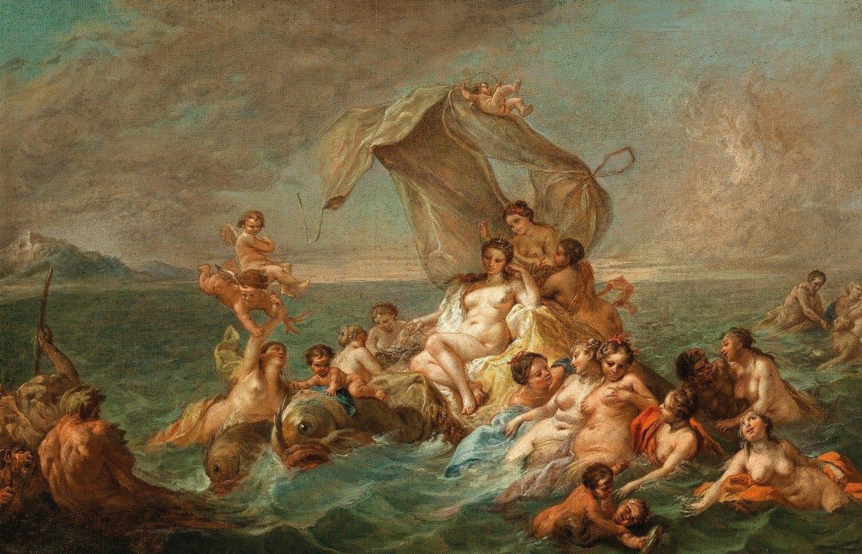 French School - The Triumph of Galatea