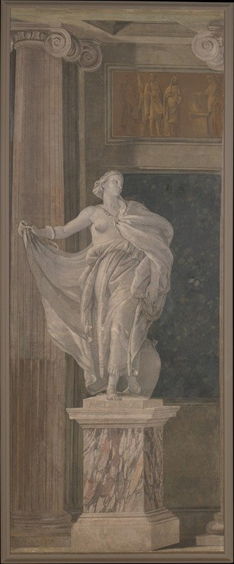 Giovanni Battista Tiepolo - Allegorical Figure Representing Metaphysics