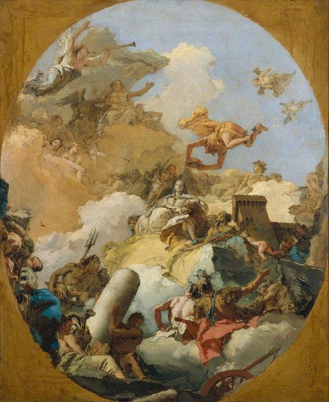Giovanni Battista Tiepolo - The Apotheosis of the Spanish Monarchy