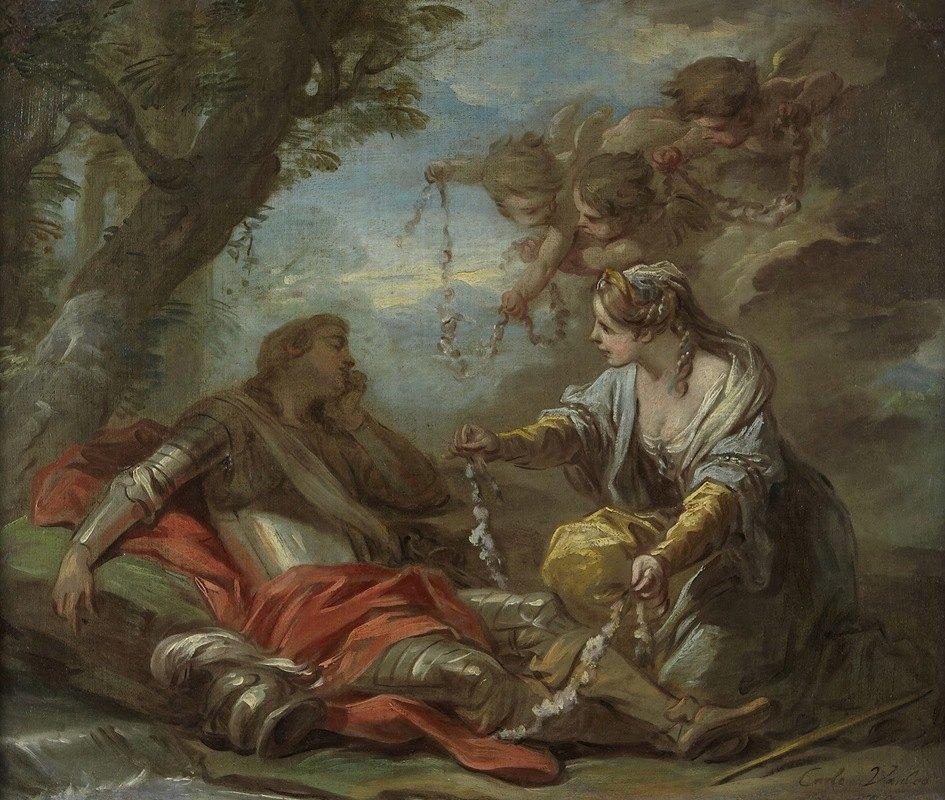 Charles-André van Loo - Rinaldo and Armida