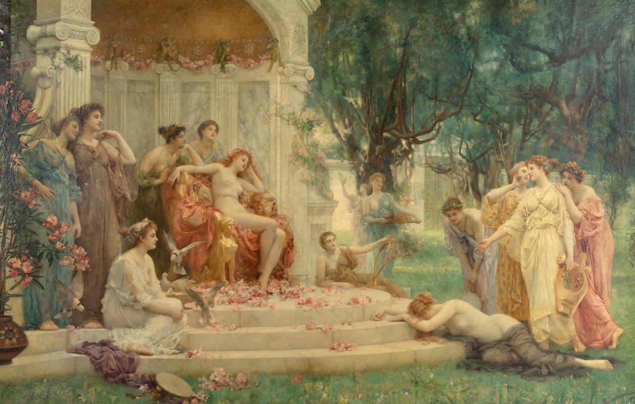 Henrietta Rae - Psyche before the throne of Venus