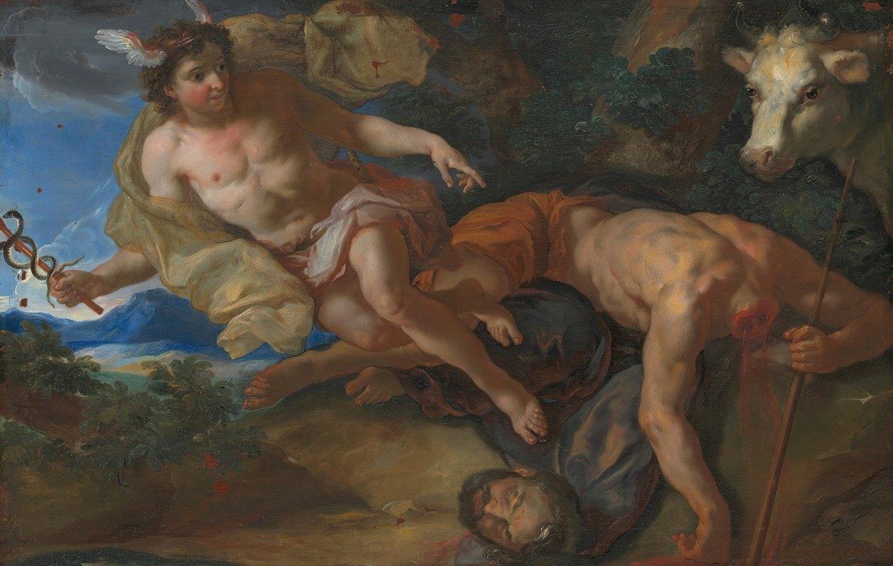 Johann Michael Rottmayr - Mercury rescues the disguised Io after beheading Argus
