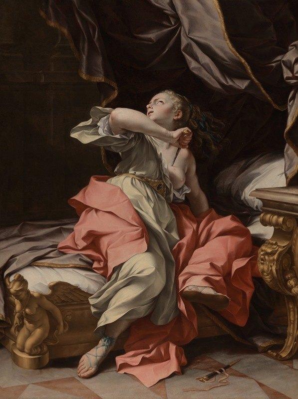 Ludovico Mazzanti - The Death of Lucretia