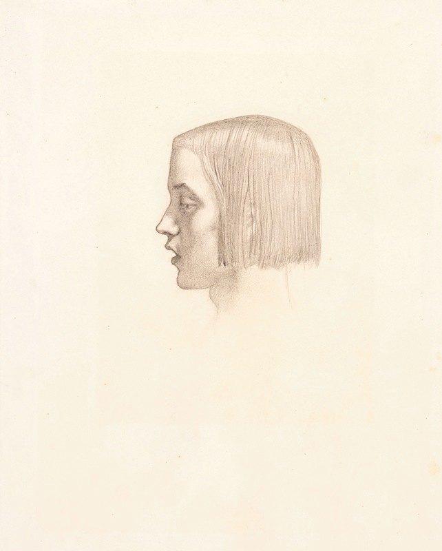 Sir John Everett Millais - Isabella – Head study of the Youth