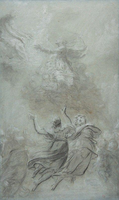 Pierre-Paul Prud'hon - The Assumption of the Virgin