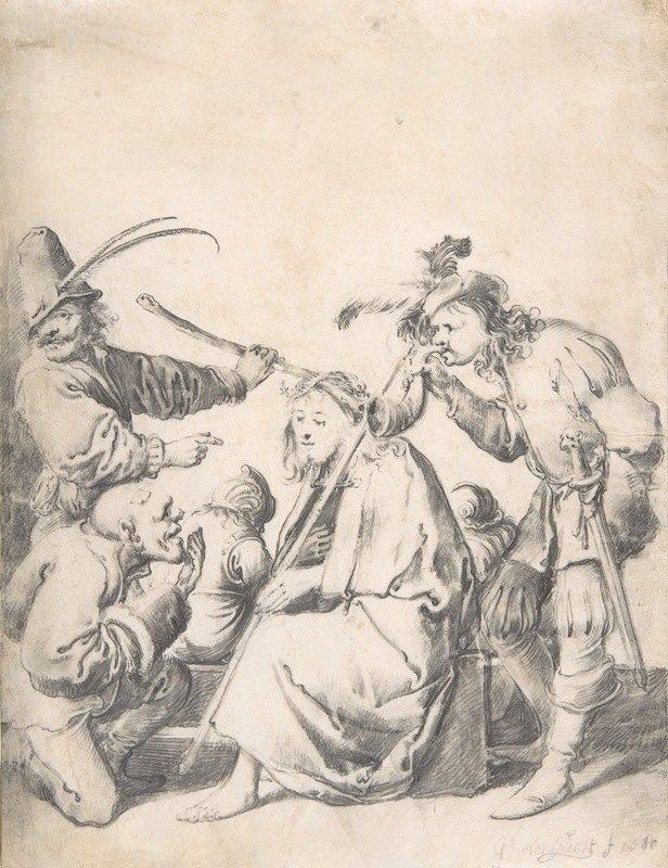 Pieter Jansz. Quast - The Mocking of Christ