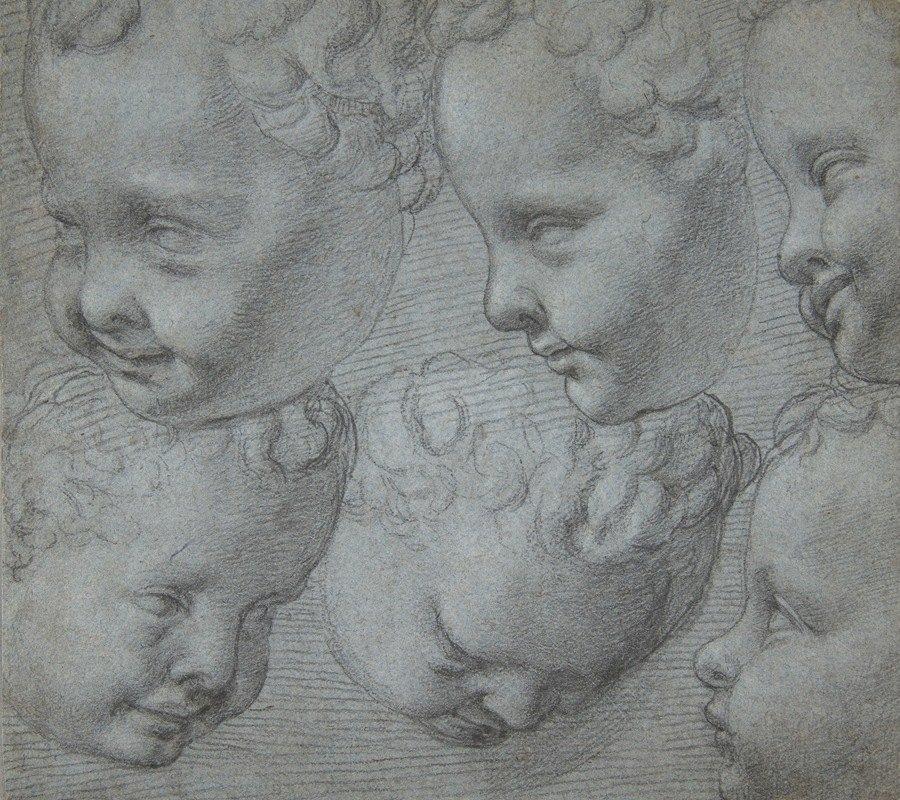 Poppi (Francesco Morandini) - Studies of the Head of an Infant (after a three-dimensional model)